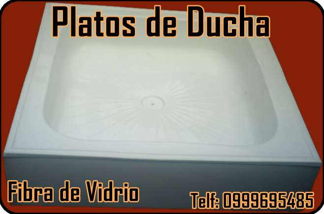 Platos de Ducha en Fibra de Vidrio, a la Medida