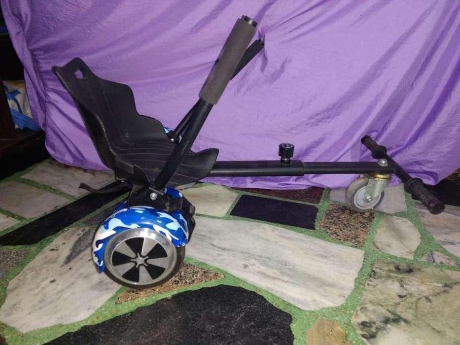 Patineta eléctrica con bluetooth MAS CARRITO (TIPO KARTING)