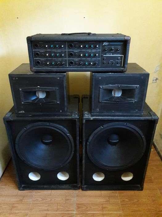 Amplificador Pre Cabezal Peavey Xm6 Usa