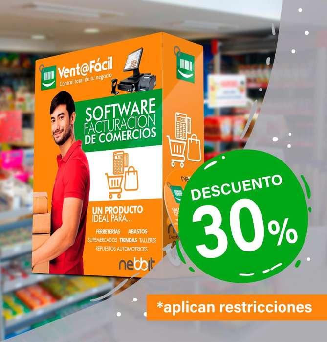 <strong>software</strong> Sistema Facturación e Inventarios para Supermercado, Minimarket, Ferreterias, Comercios. Punto De Venta
