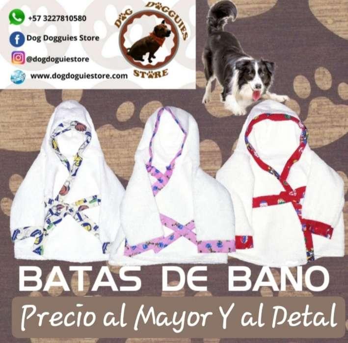 Batas de Baño para <strong>perro</strong>s