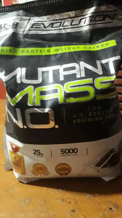 Mutant Mas Proteina Ganador de Masa,leer
