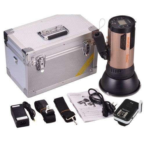 Flash para fotografía de interiores y exteriores Nicefoto Nflash 600 Watts Artículo Nuevo de oferta!