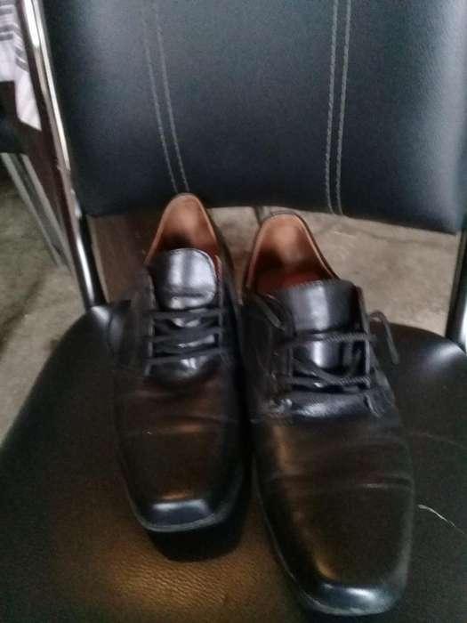 Zapatos Nuevos de Cuero Nm43