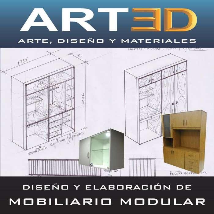Servicio de Diseño y Elaboración de Mobiliario Modular