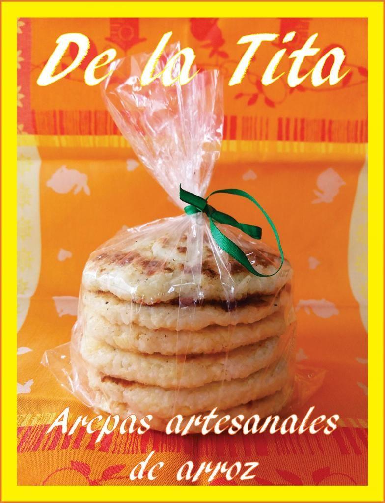 30f477e12fa6 Arepas artesanales de arroz con queso bajo en grasa. Especiales para ...