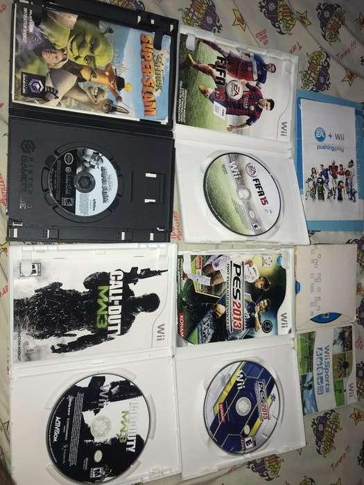 Juegos de Nintendo Wii Nuevos 10 C/U