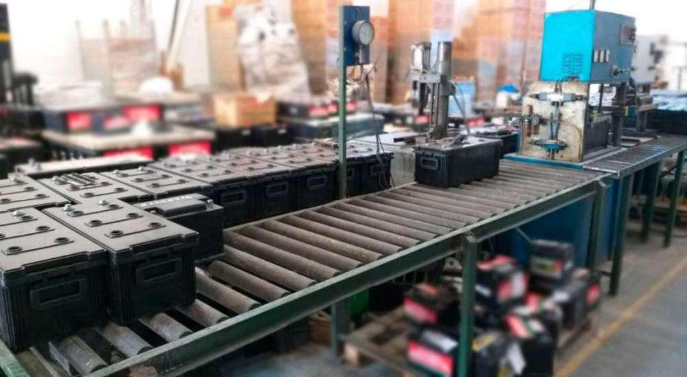maquinas para fabricar baterias
