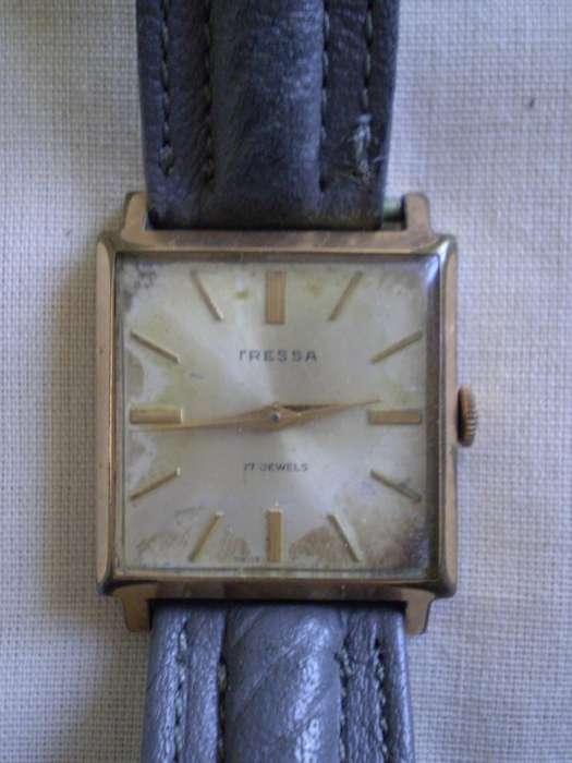 Reloj Tressa a cuerda Unisex Vintage Hipster Funcionando!!
