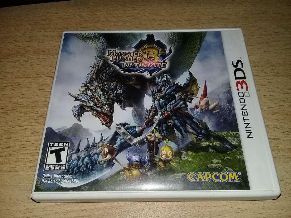 Monster Hunter 3 Americano Nintendo