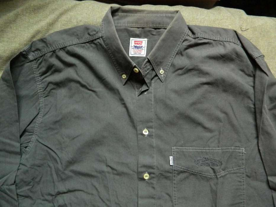 <strong>camisa</strong> Levi's talle 41 Large chico o Medium grande gris