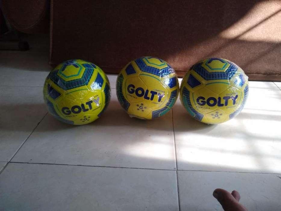 Vendo Balones Golty #4 Laminado