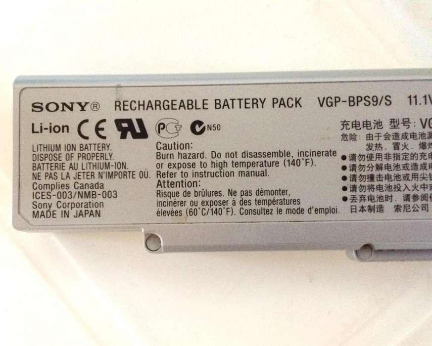Batería original para portátil Sony Vaio