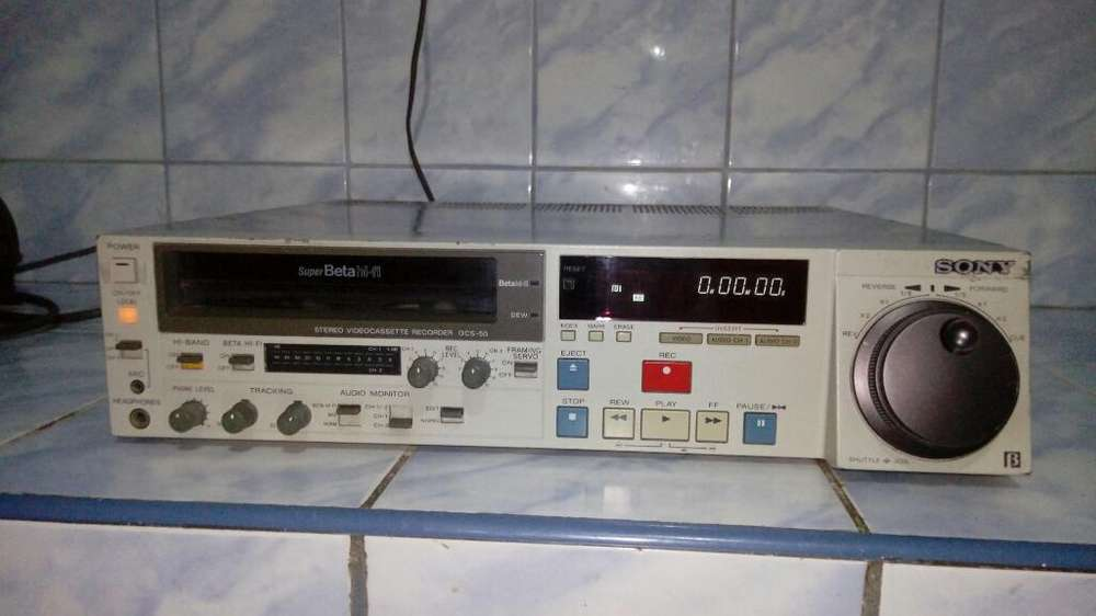 Vendo Un Betamax Sony Hi Fi Estereo