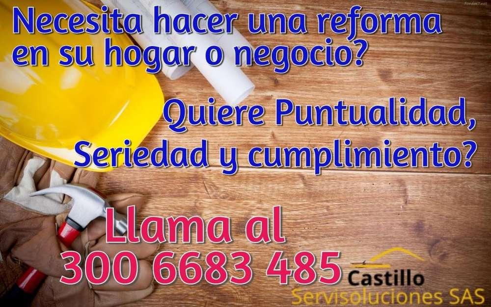 REFORMAS - OBRA CIVIL - ORNAMENTACION - CARPINTERIA METALICA - HIERRO FORJADO