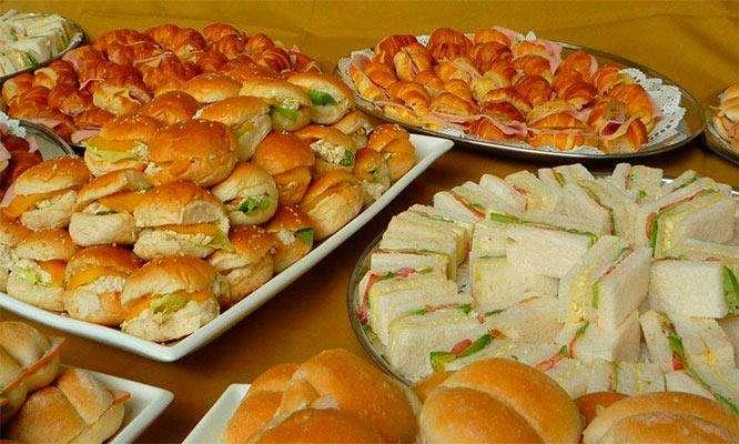 Bocaditos , desayunos y ponches para todo evento