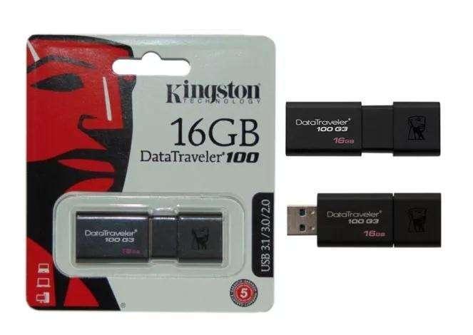 USB KINGSTON 16 GB 3.0 NUEVOS DE PROMOCION