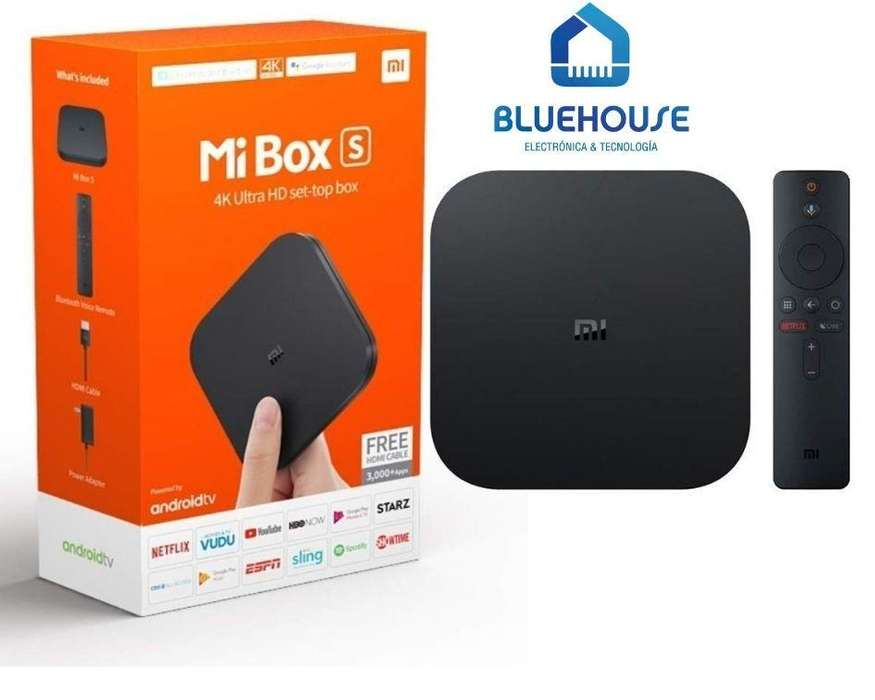 TV BOX MI BOX S 4K Xiaomi C/Chromcast C/Voz