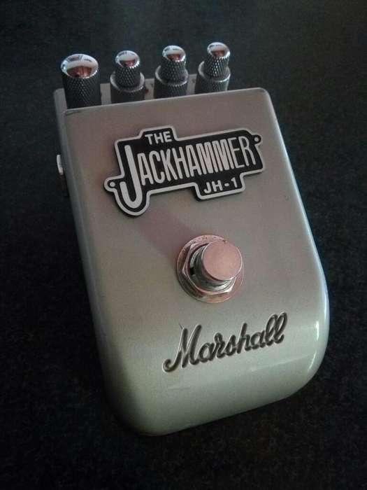 Pedal Distorsión Marshall Jackhammer