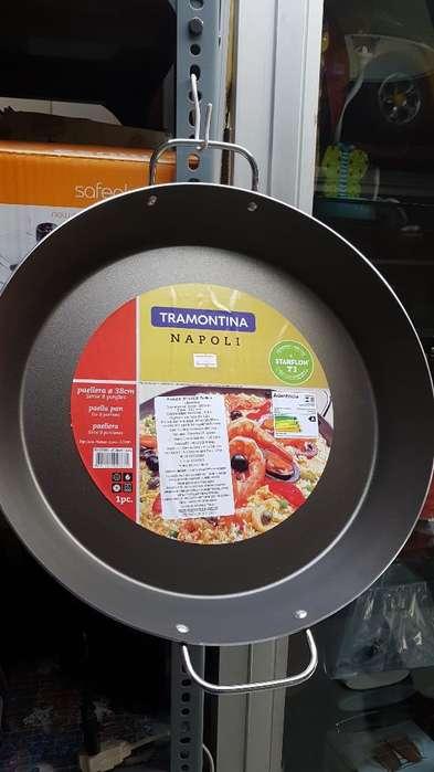 Paellera Tramontina Antiadherente Cocina