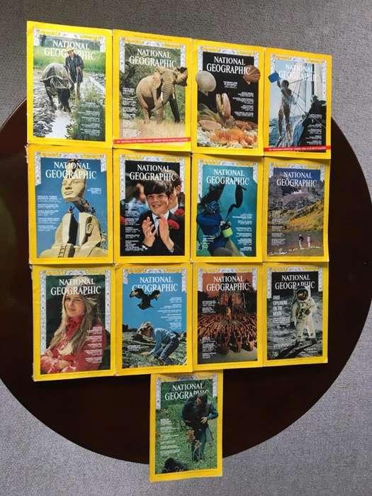Colección Revistas National Geographic Año 1969