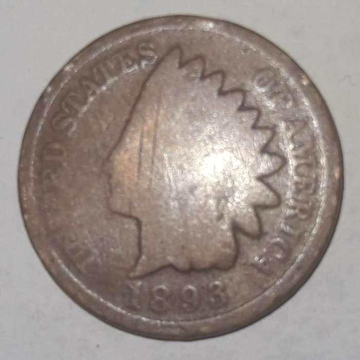 Moneda Centavo 1893