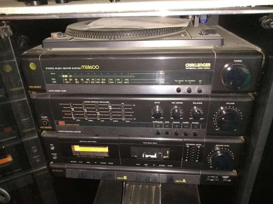 vendo equipo de sonido chalenger