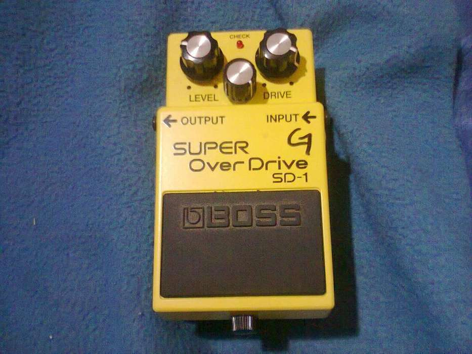 VENDO pedal de distorsion