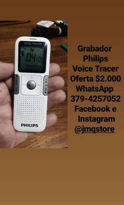 Grabador Philips Voice Tracer