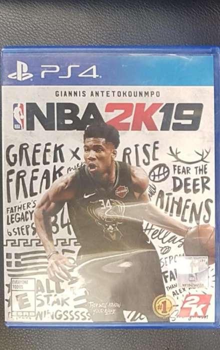 NBA2k19 Playstation 4