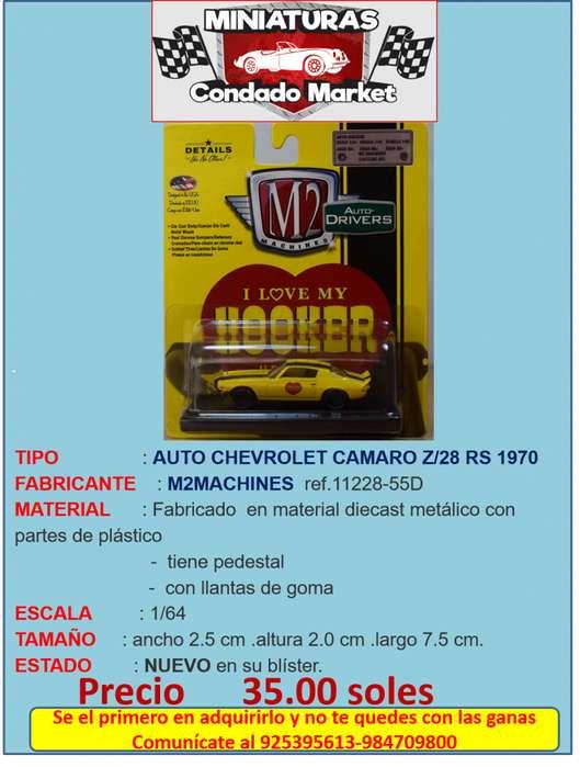 AUTO CHEVROLET CAMARO Z/28 RS 1970