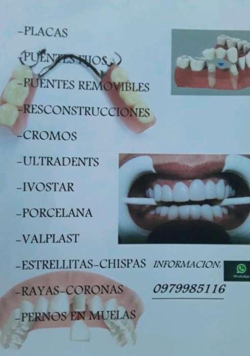 Toda Clase de Tranajos Dentales