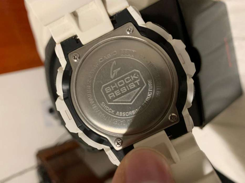 <strong>casio</strong> G Shock Blanco hombre