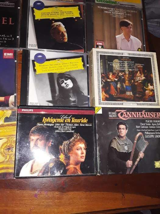 Cd Musica Opera Nuevos 50cds