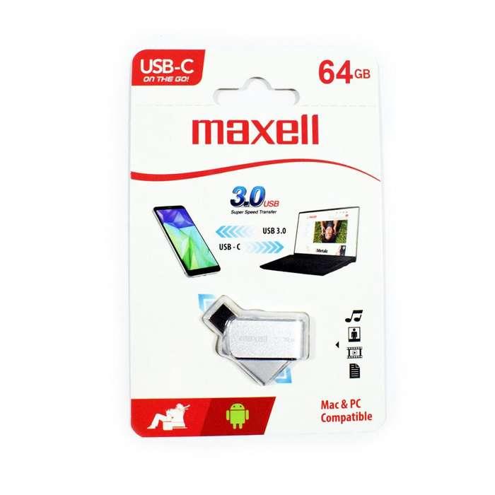 VENDO MEMORIA USB TIPO C MAXWELL 32GB/64GB