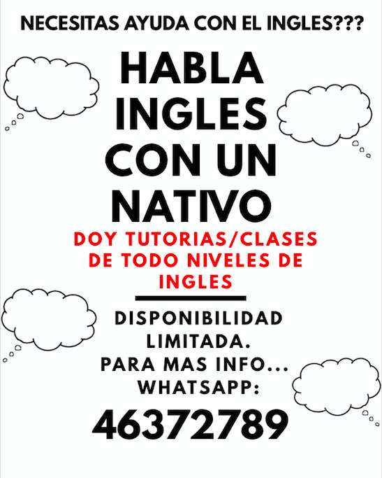INGLES NATIVO: Tutorias