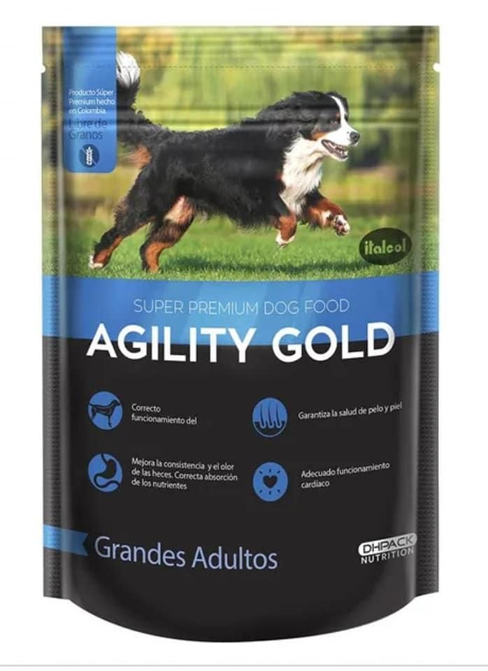 AGILITY GOLD AZUL GRANDES ADULTOS