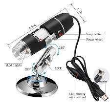 "CAMARA MICROSPOPIO DIGITAL LED USB ""TRINOCULAR"" PARA ELECTRONICA, BIOLOGIA.500x1500X"
