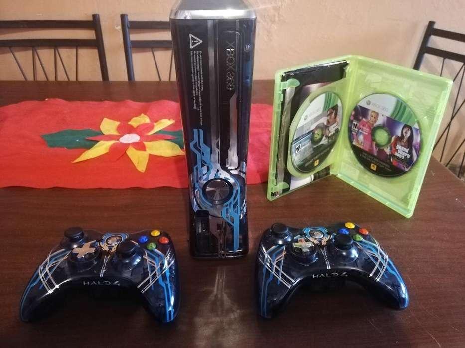 Xbox 360 Slim Halo 4 320gb Precio Fijo