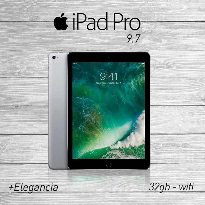 Ipad Pro 9.7 32gb Wifi Disponible Colores Caja Sellada Tienda San Borja. Garantía.