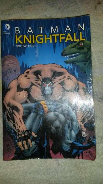 Historieta Batman Knightfall