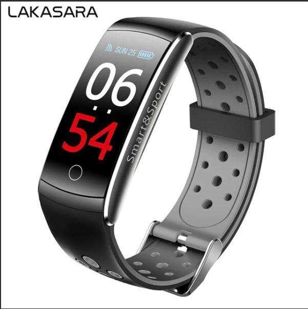 Smartwatch Q8s PulseraInteligente RITMO CARDIACO DEPORTES PRESION BLUETOOTH
