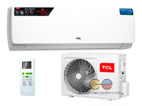 Tcl Aire Acondicionado 12000 Btu Refrigerante R410 Modo Noct