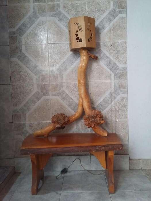 Mesa de Luz Madera Artesanal