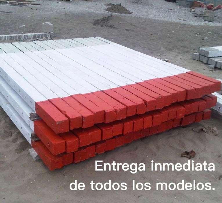 Estacas de cemento / hormigón para haciendas bananeras camaroneras fincas terrenos y solares