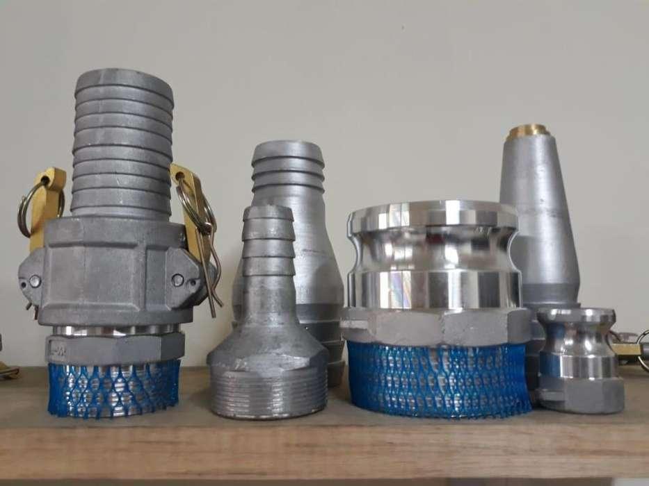 Acoples en aluminio de todo tipo