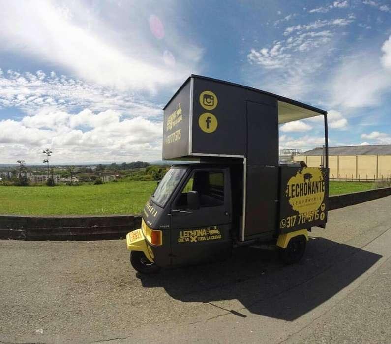Food Truck PIAGGIO motocarro LISTO PARA TRABAJAR