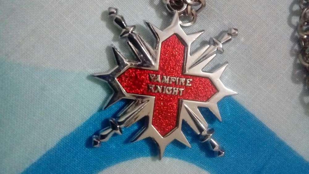 Collar Anillo Vampire Knight Anime Pin