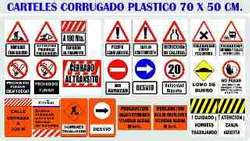 CARTELES en Plástico ALTO IMPACTO de Varias Medidas y Motivos.