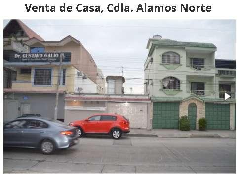 Venta de Casa, Cdla. Alamos Norte Guayaquil